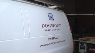 Even small decals can stand out and bring you new business.