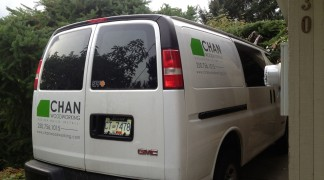Van for Chan Woodworking