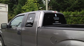 One of three trucks we did for Dogwood Homes.