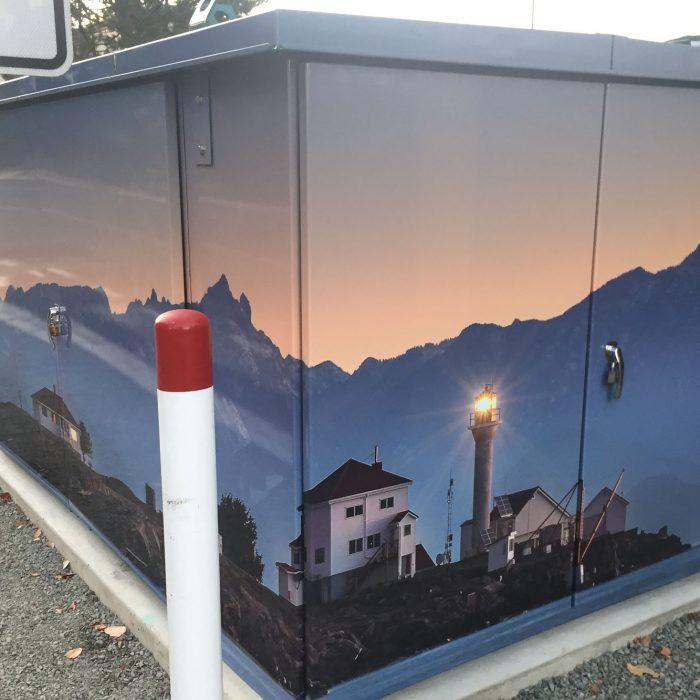 City of Nanaimo Dover Kiosk 2