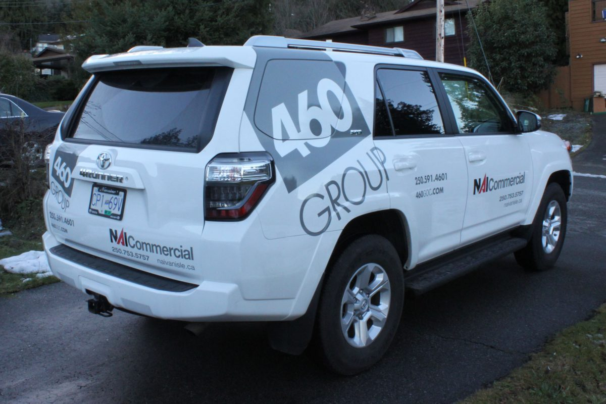 460 Realty Partial SUV Wrap