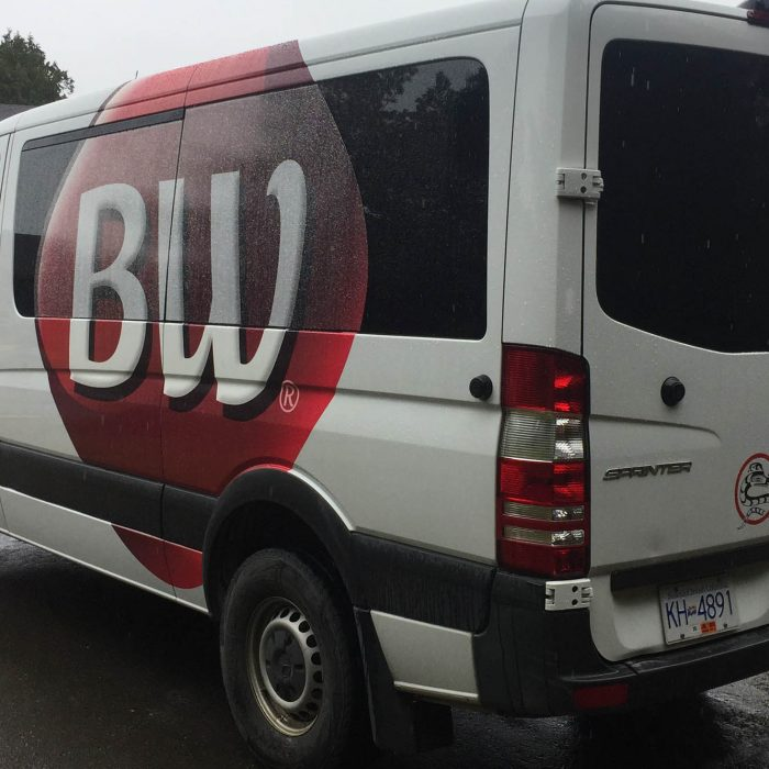 Best Western Tofino Partial Vehicle Wrap 4