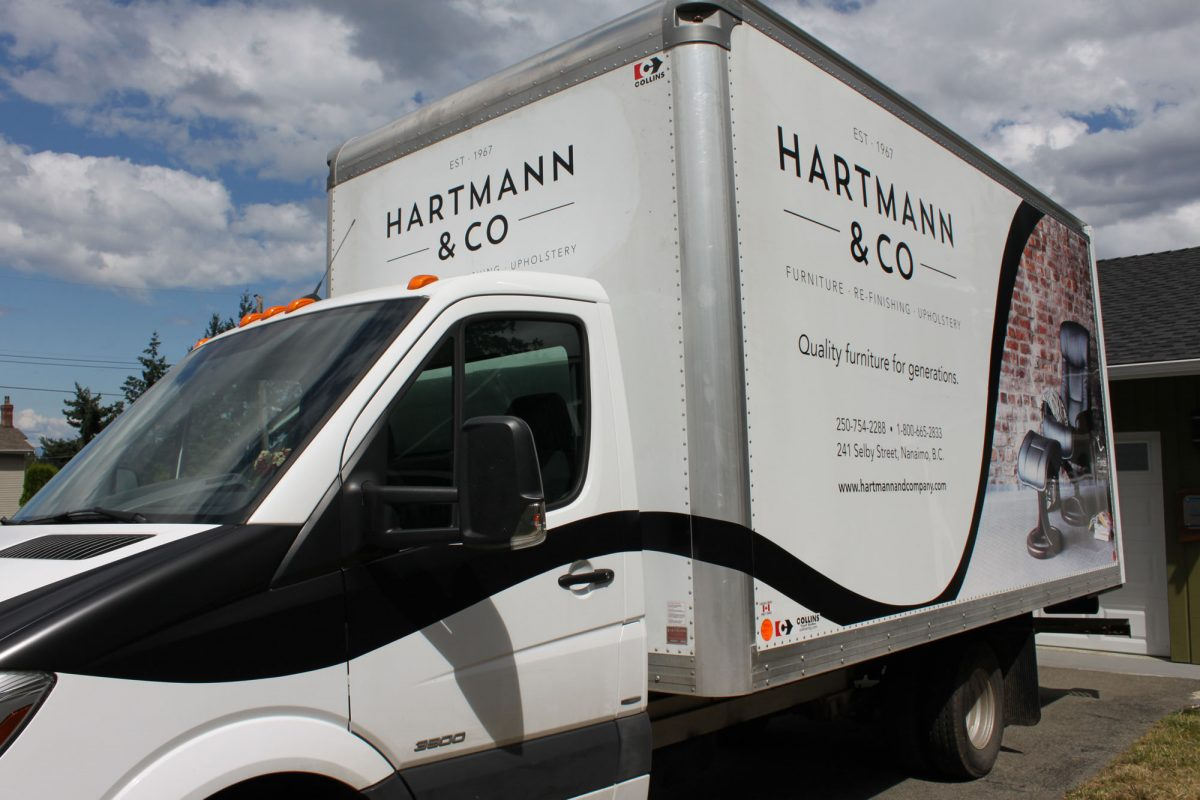 Hartmann and Co Vehicle Wrap