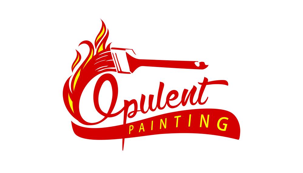 Oplulent Painting Logo
