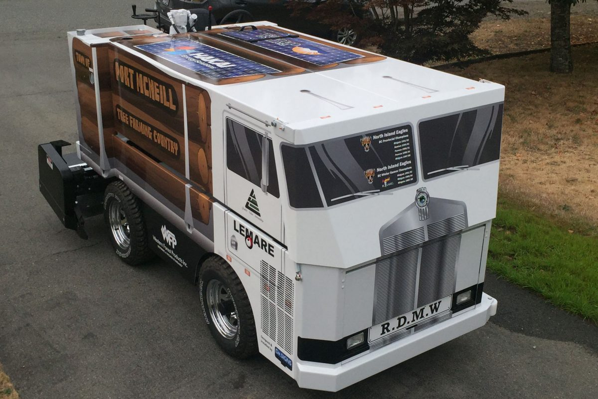 Port McNeill Zamboni Wrap