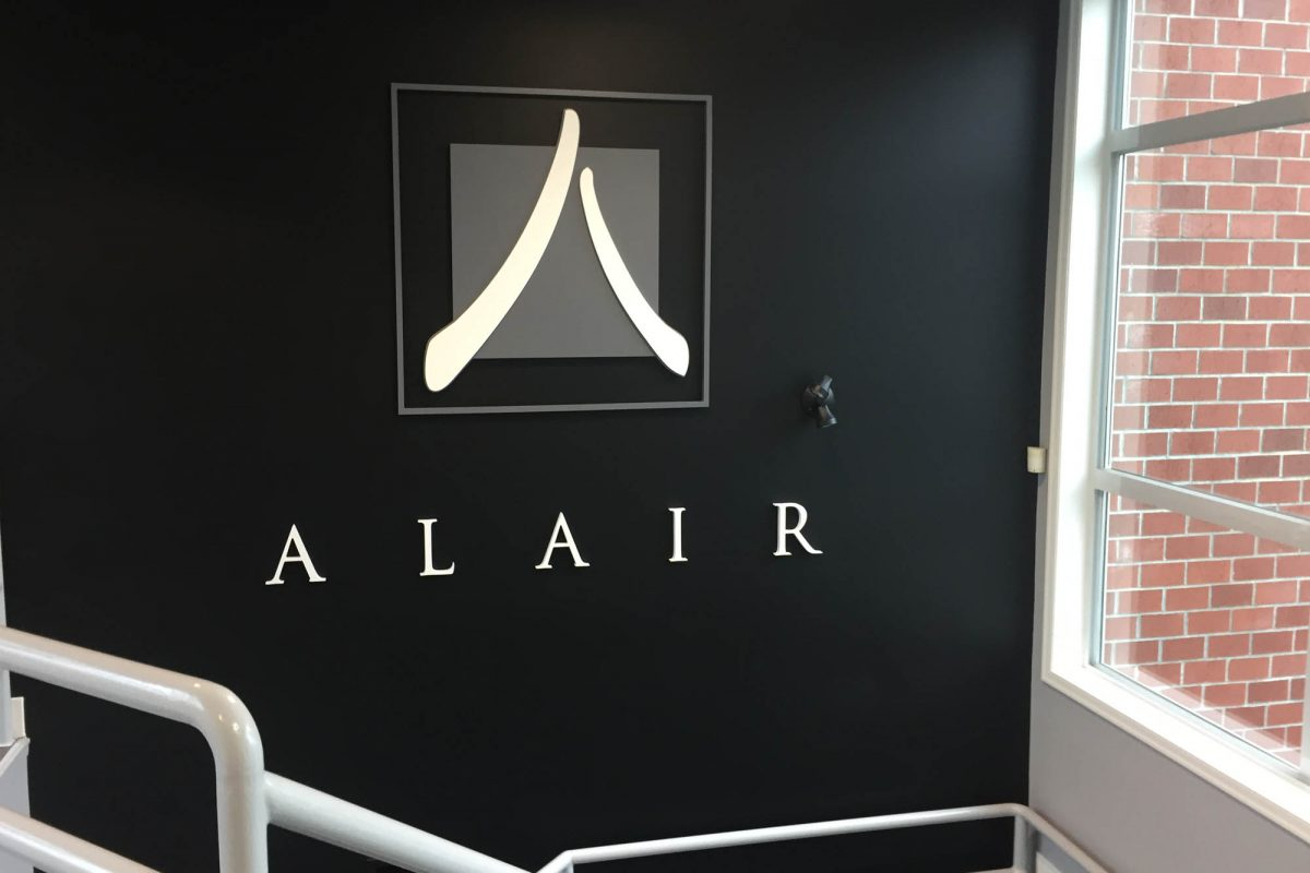 Alair Homes Dimensional PVC Sign 2