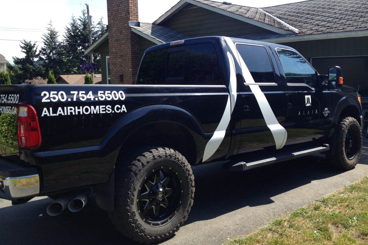 Alair Homes Ford F350 Vehicle Decals