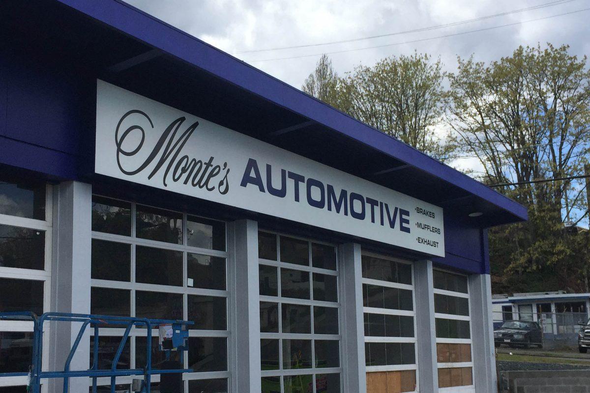 Automotive Back Lit Signs 2