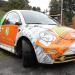 Buy Sell Trade VW Beetle Vehicle Wrap 4