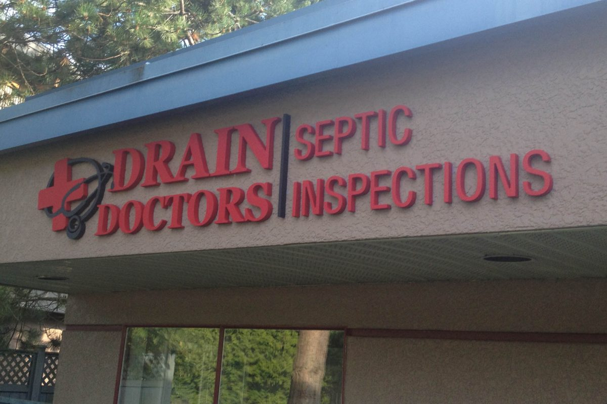 Drain Doctor Dimensional Foam Sign