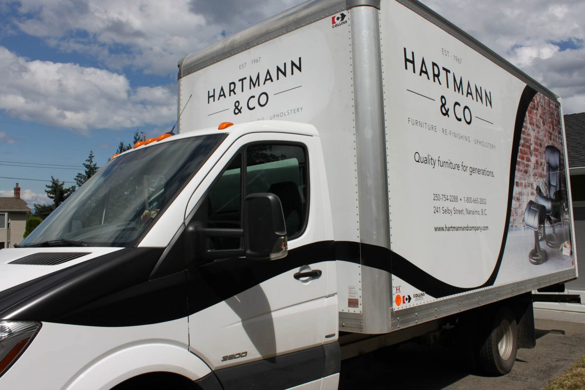 Hartmann Vehicle Wrap 2