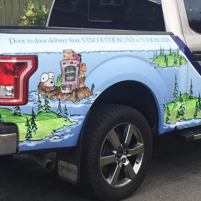 Island Supply Partial Vehicle Wrap 4