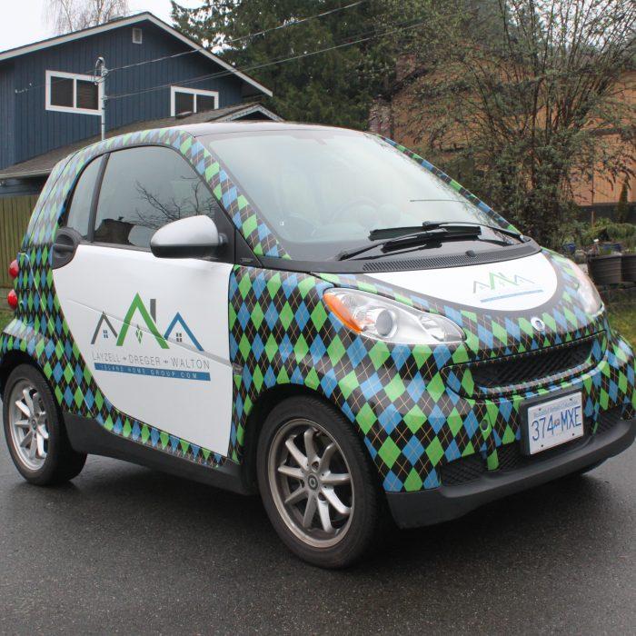 Real Estate Vehicle Wrap 2
