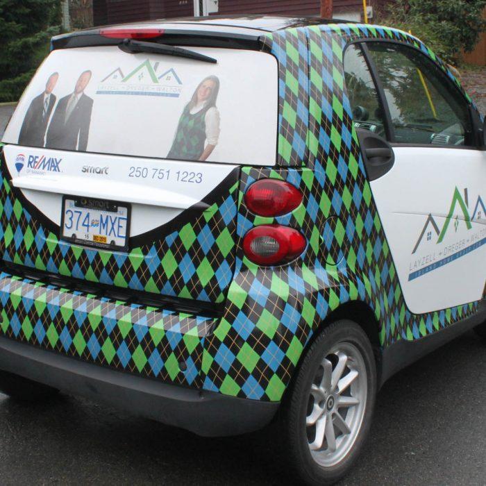 Real Estate Vehicle Wrap 4