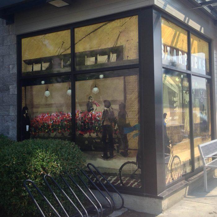 Starbucks Window Decals 2