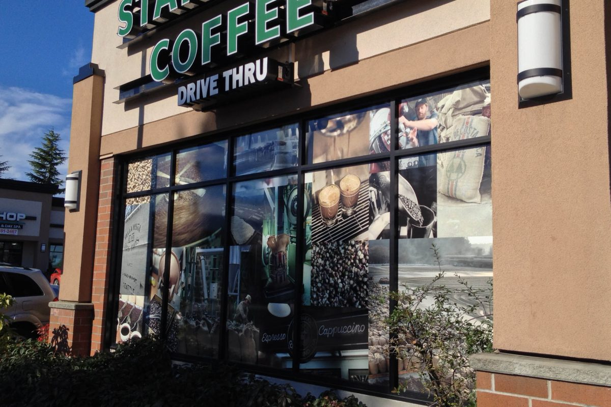 Starbucks Window Decals 3