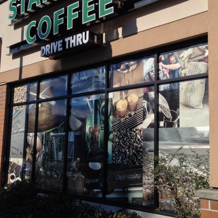 Starbucks Window Decals 3