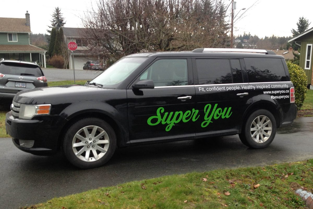 Super You Cut Vinyl Vehicle Decals