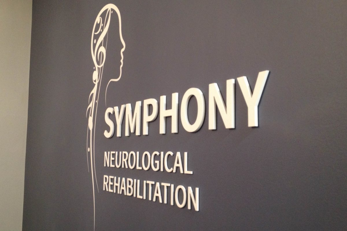 Symphony Neuro Dimensional PVC Interior Sign