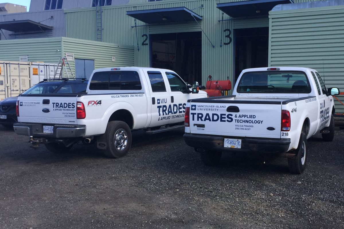 VIU Trades Cut Vinyl Vehicle Decals