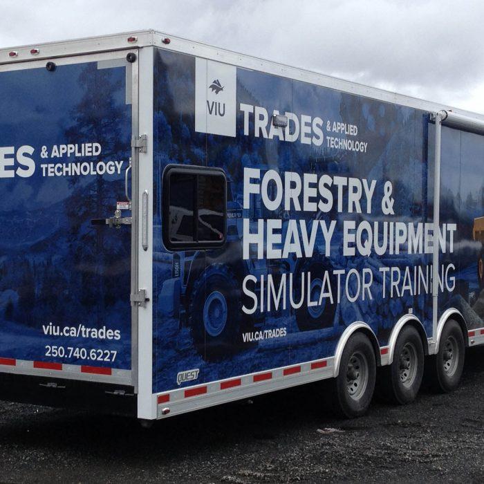 VIU Trades Trailer Vehicle Wraps 3