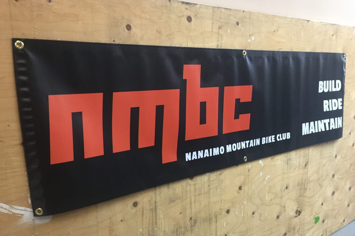 Bike Club Outdoor Banner