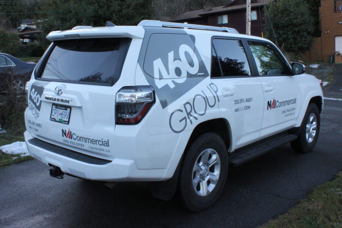 460 Realty Partial SUV Wrap