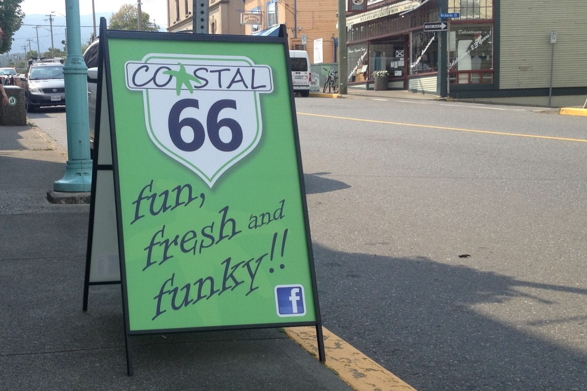 Coastal 66 Metal A-Frame