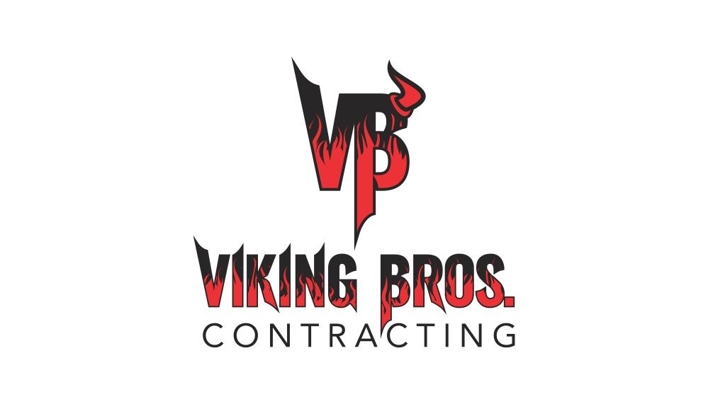 Viking Bros Contracting Logo