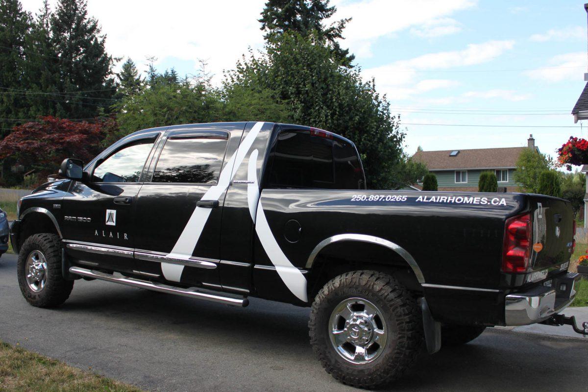 Alair Homes Dodge 1500 Vehicle Decals