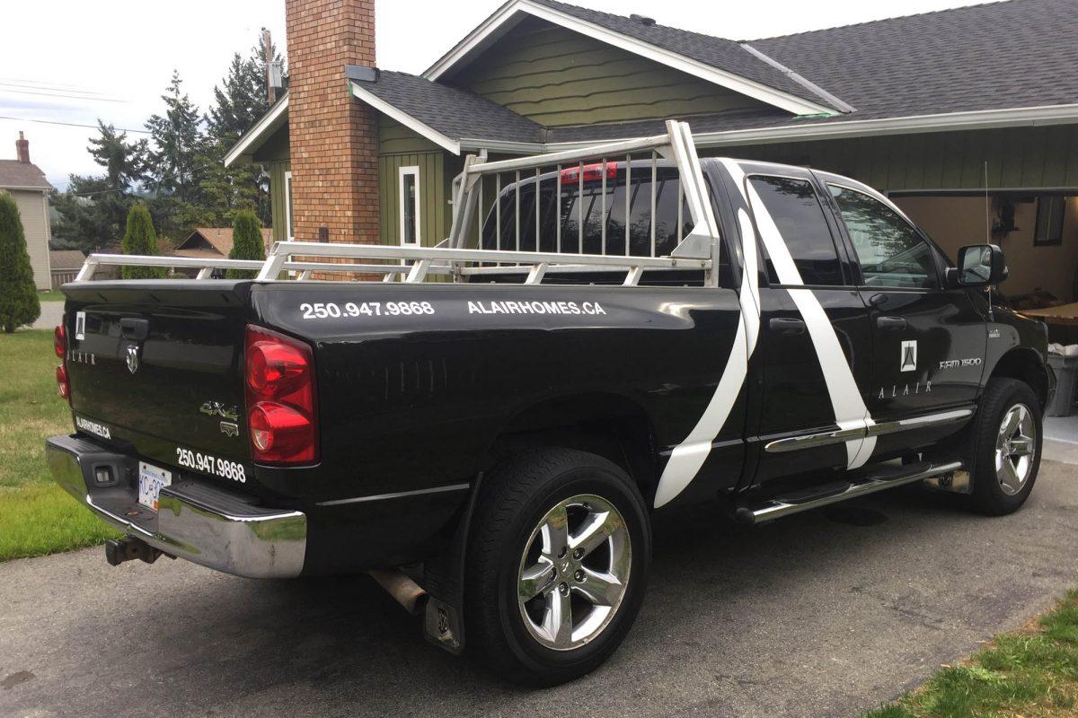 Alair Homes Dodge 1500 b Vehicle Decals
