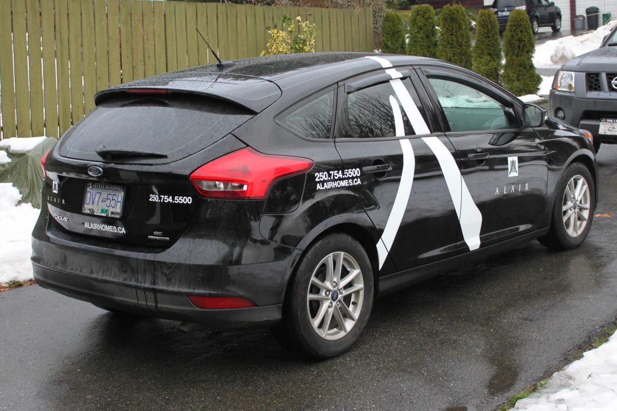 Alair Homes Ford Focus Vehicle Decals