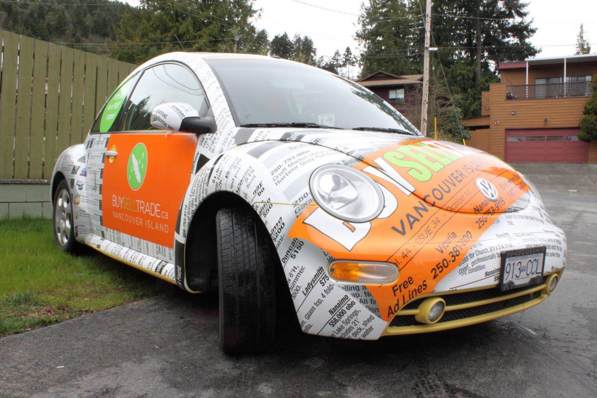 Buy Sell Trade VW Beetle Vehicle Wrap 4