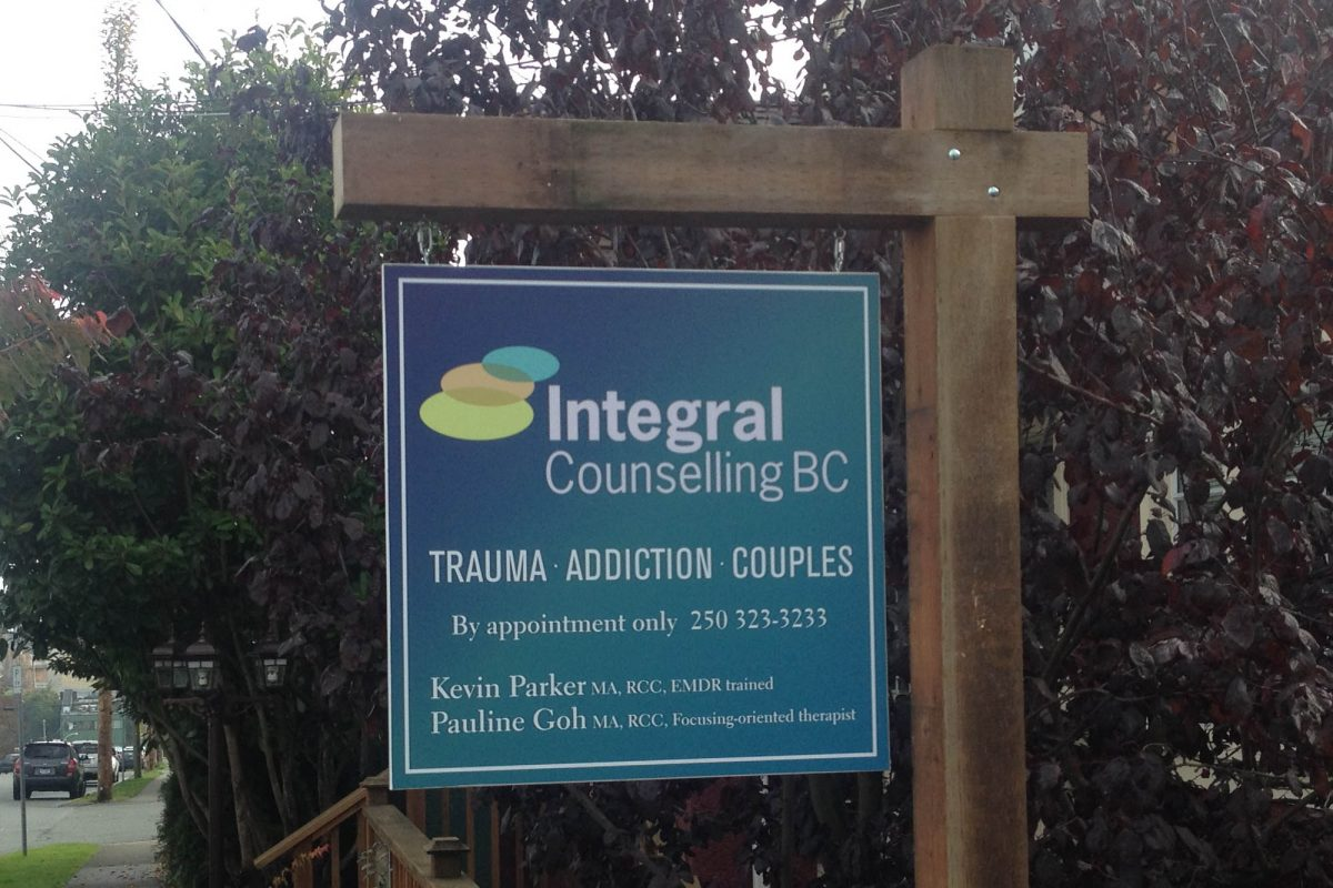 Counsellor Home Business Wood Sign