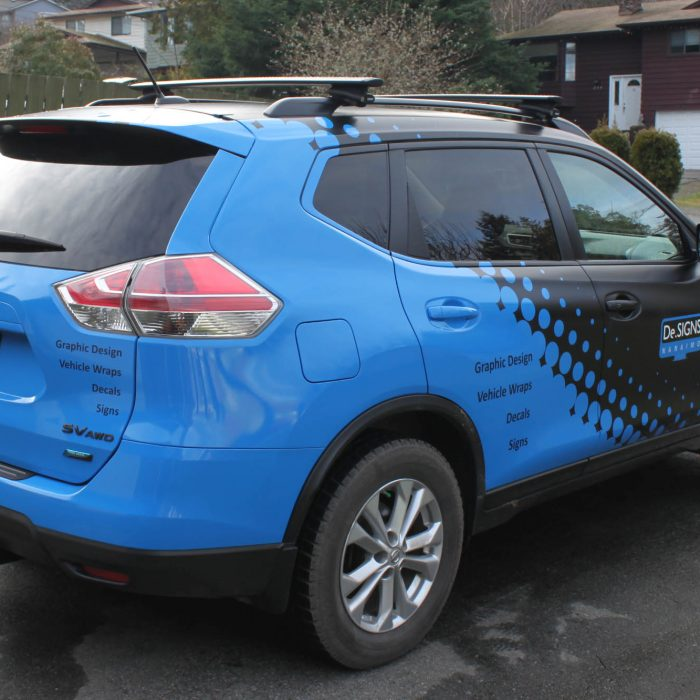 DeSigns Nanaimo Vehicle Wrap 1