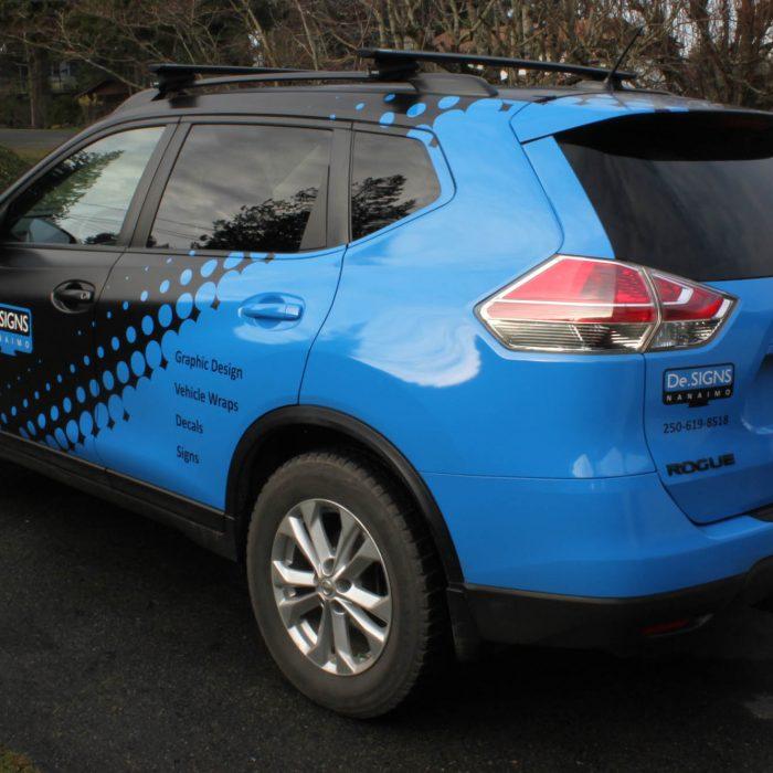 DeSigns Nanaimo Vehicle Wrap 4