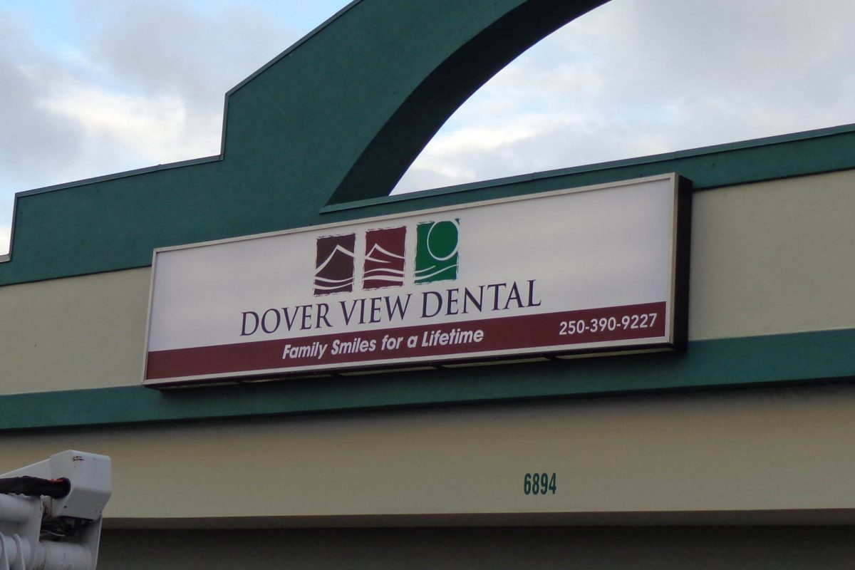 Dental Office Back Lit Sign