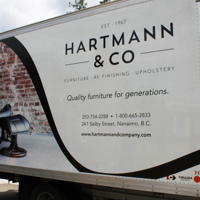 Hartmann Vehicle Wrap 1