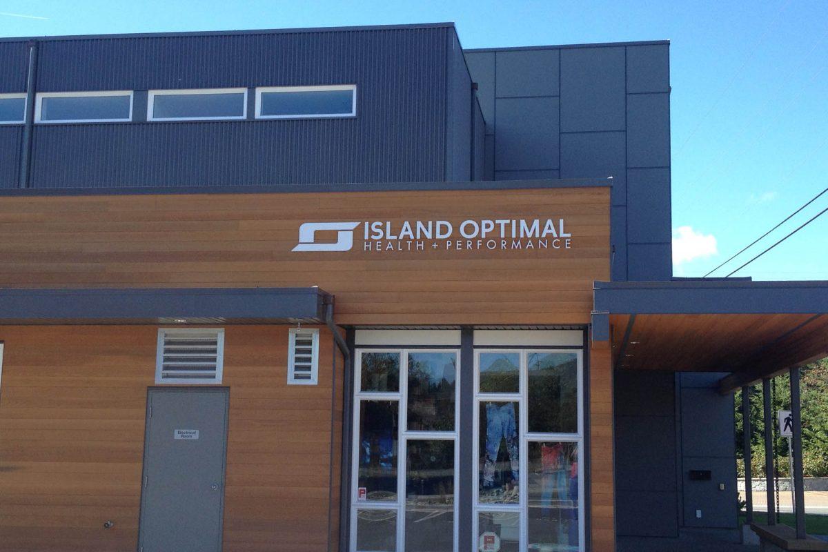 Island Optimal Dimensional Foam Sign 1
