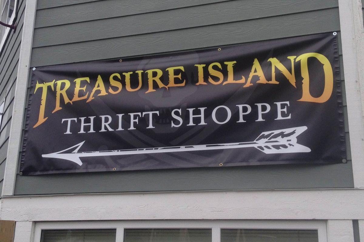 Thrift Shop Outdoor Banner