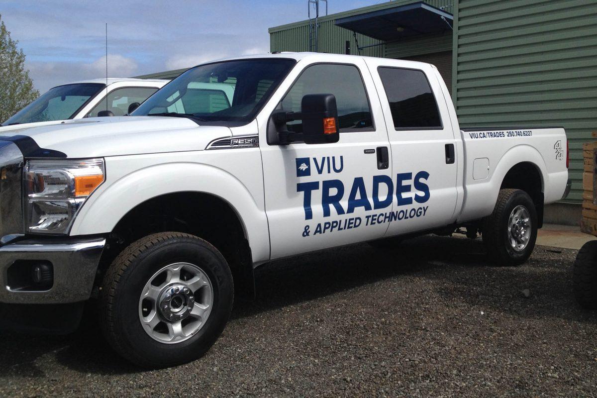 VIU Trades Cut Vinyl Vehicle Decals 3