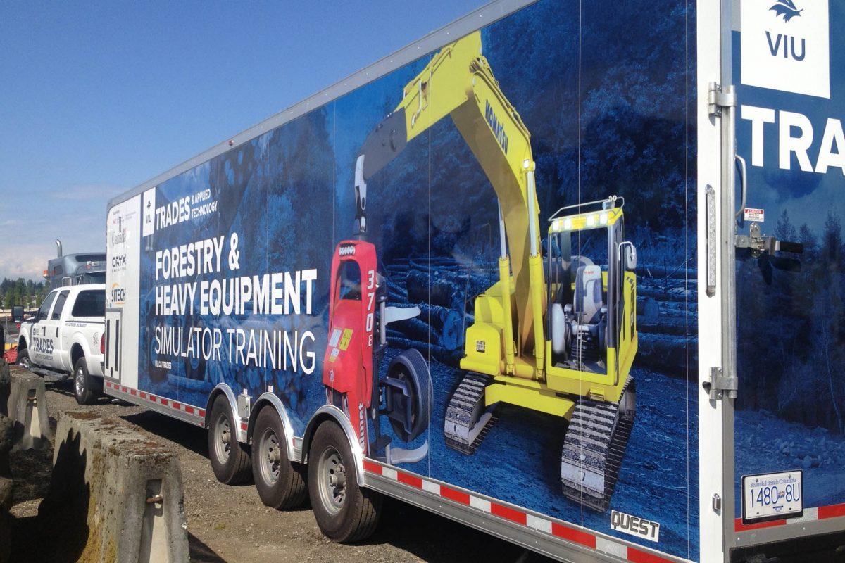 VIU Trades Trailer Vehicle Wraps 1