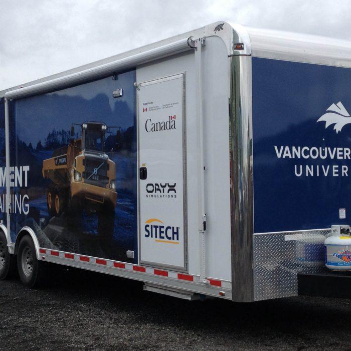 VIU Trades Trailer Vehicle Wraps 4
