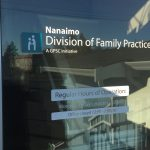 Nanaimo Family Practice Window Decals