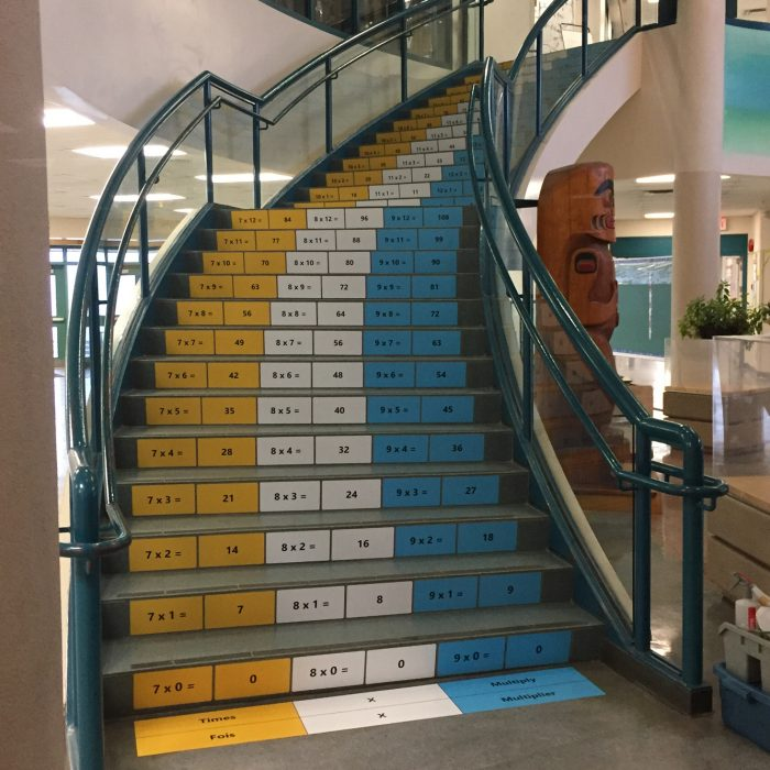 School Stairs Wrap 1