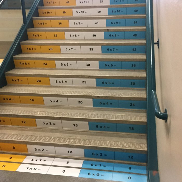 School Stairs Wrap 7